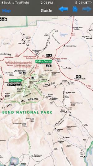 Big Bend National Park GPS Map Navigator on the App Store