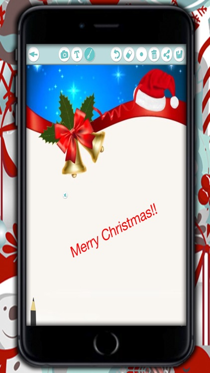 Create Christmas Cards - Customized Christmas greeting cards to write and wish a happy New Year screenshot-4