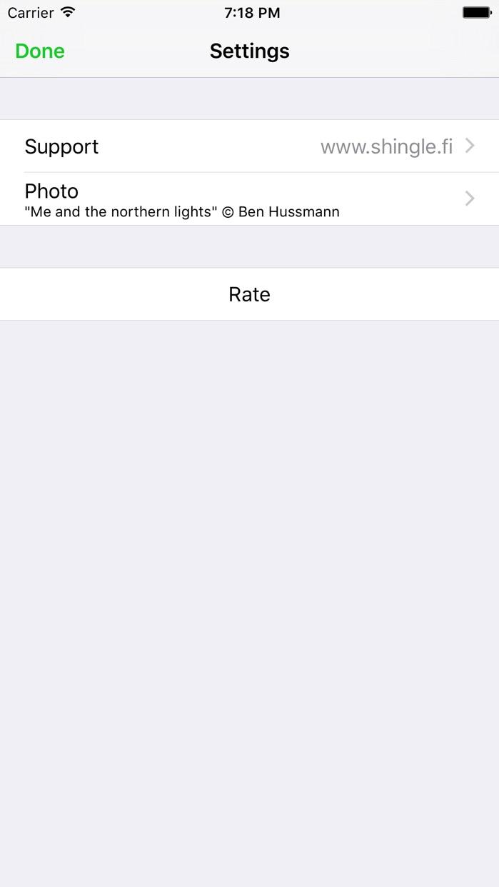 Northern Lights - Aurora alerts Screenshot