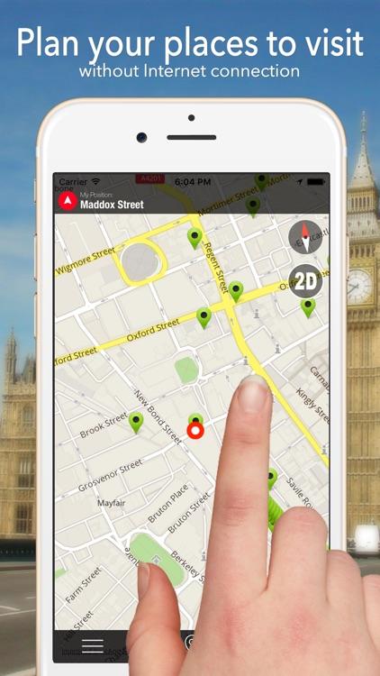 Charleston Offline Map Navigator and Guide