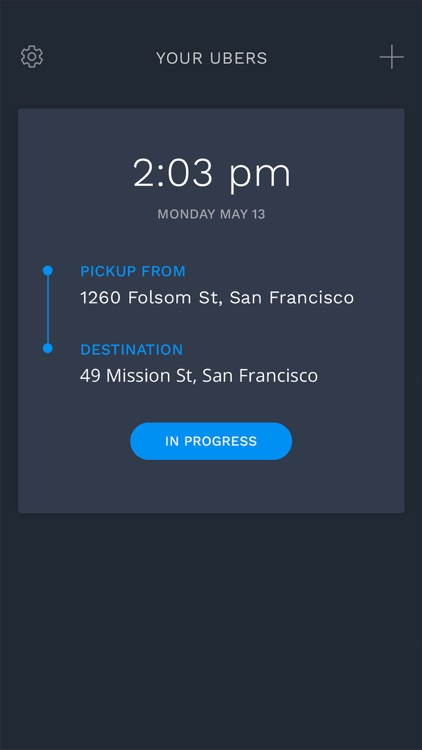 TimeTravel - Prebook rides for Uber screenshot-3
