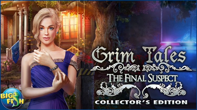 Grim Tales: The Final Suspect - A Hidden Object Mystery (Full) screenshot-4