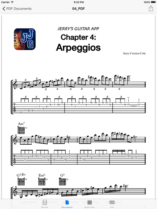 Jerrys Jazz Guitar On The App Store
