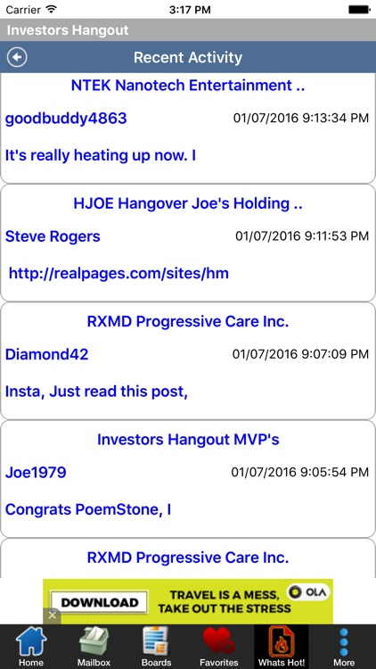 Investors Hangout screenshot-4