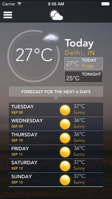 Weather - Daily Local City Weather Forecast & Updatesのおすすめ画像1