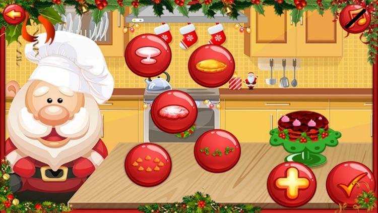 Santa Cake Salon