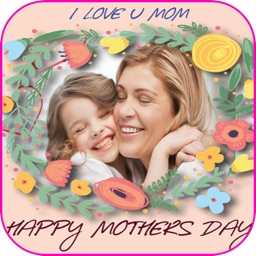 Happy Mothers Day Photo Frame & Cards