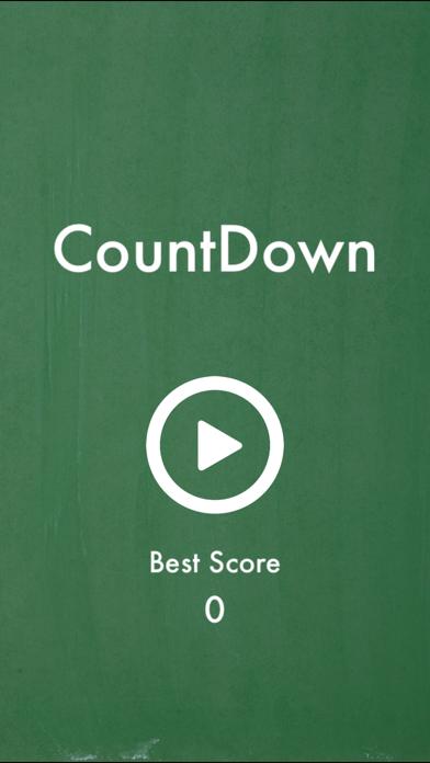 CountDown - Math Game screenshot one