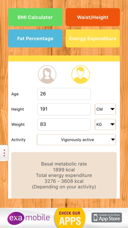 BMI Calculator: weight loss screenshot-4