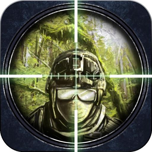 3D Бесплатные игры снайпер (17 +) - Джунгли Warfare