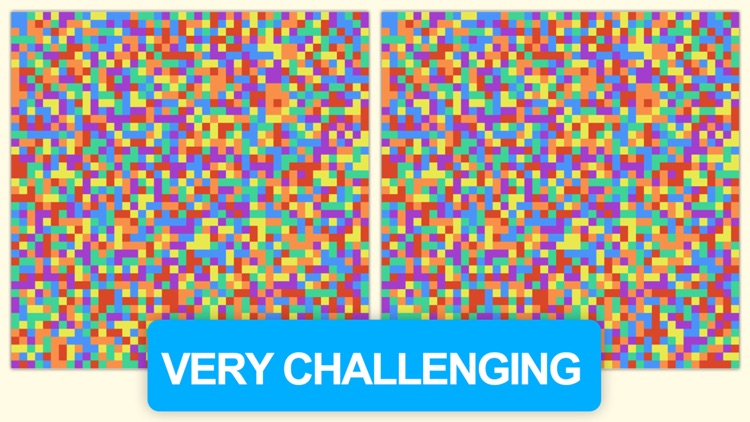 Impossible Pixels Spotter ~ An awesome and addicting & amazing popular brain challenge find all the color differences game screenshot-3