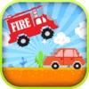 Jumpy Smashy Fire Truck Speed Racing Simulation Game