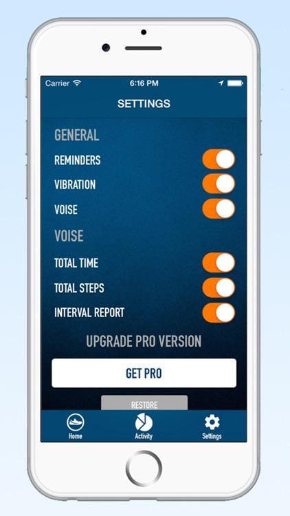 Pedometer Step Counter - Walking Running Tracker screenshot-3