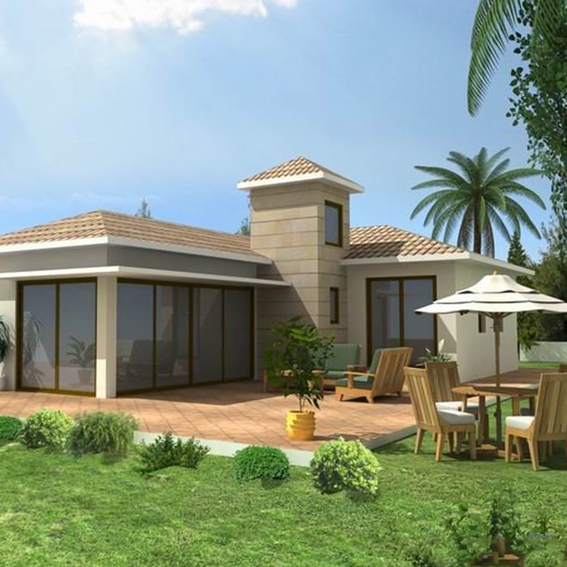 Beautiful Bungalow Designs: Modern Bungalow And Dormer