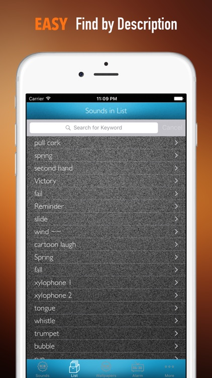 Dramatic Sounds and Wallpapers: Theme Ringtones and Alarm by WindyApp Studio
