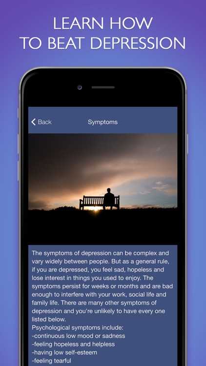 Relieve Depression - Mood Therapy Pro