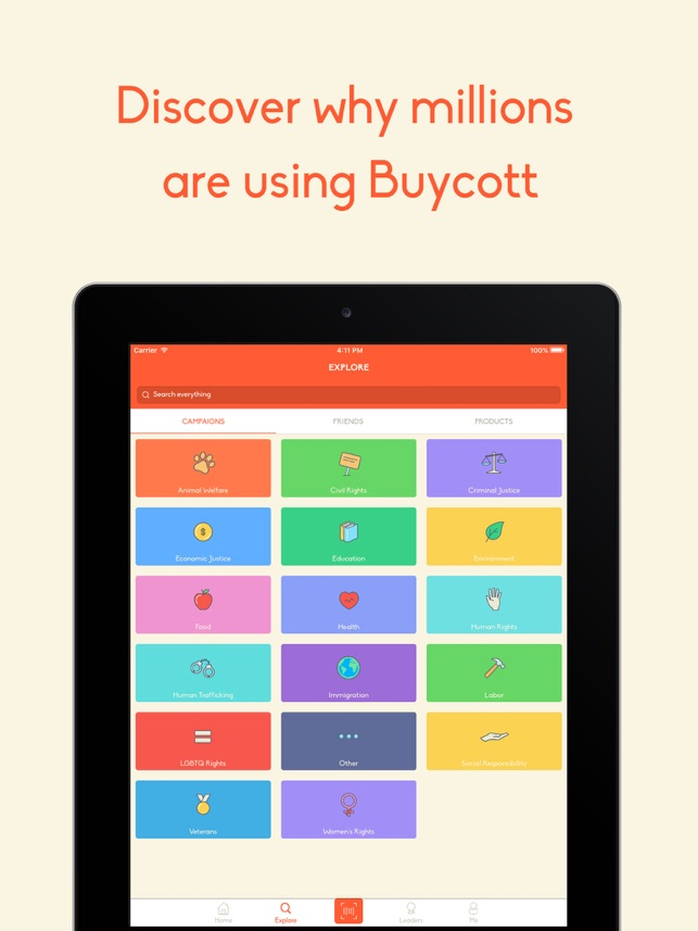‎Buycott - Barcode Scanner & QR Bar Code Scanner Screenshot
