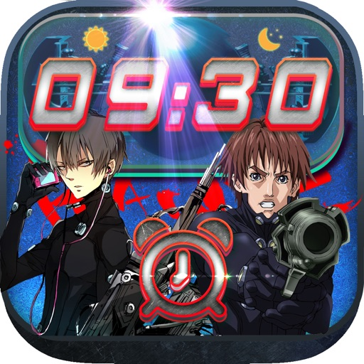 iClock – Manga & Anime : Alarm Clock Gantz Wallpapers , Frames and Quotes Maker For Pro