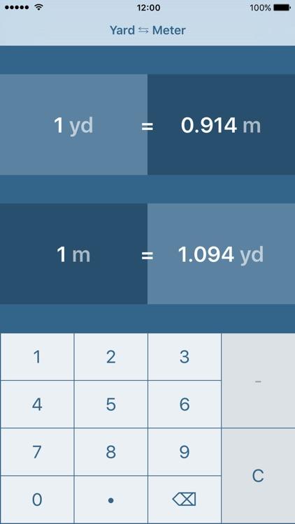Yard In Meter