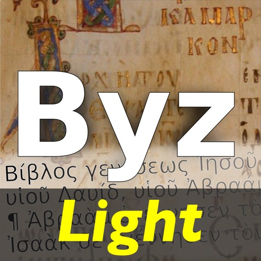 Byztxt Light Koine Greek New Testament with Nestle Aland Variants of Textus Receptus Majority Text iOS App