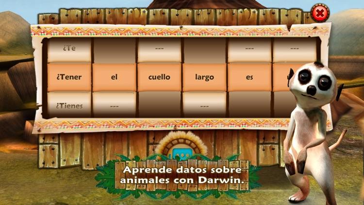 Safari Tales Español – aprende a leer a través del juego creativo screenshot-3