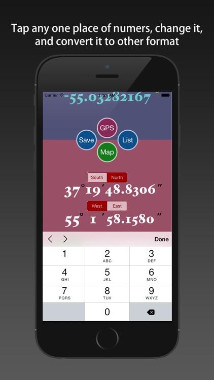LatLon Convertor screenshot-3