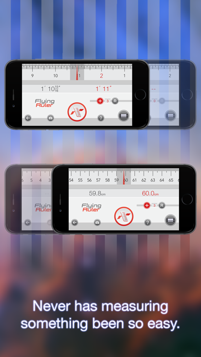 Screenshot for Move to measure - Flying Ruler in Egypt App Store