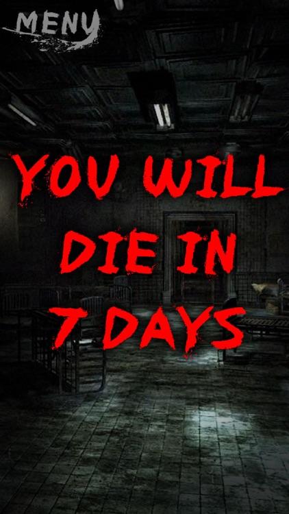 You will die in 7 days joke