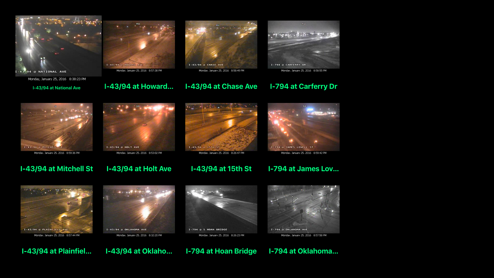 Wisconsin NOAA Radar with Traffic Cameras 3D Pro screenshot 10