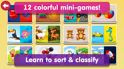 Smart Baby Sorter HD - Early Learning Shapes and Colors / Matching and Educational Games for Preschool Kidsのおすすめ画像2