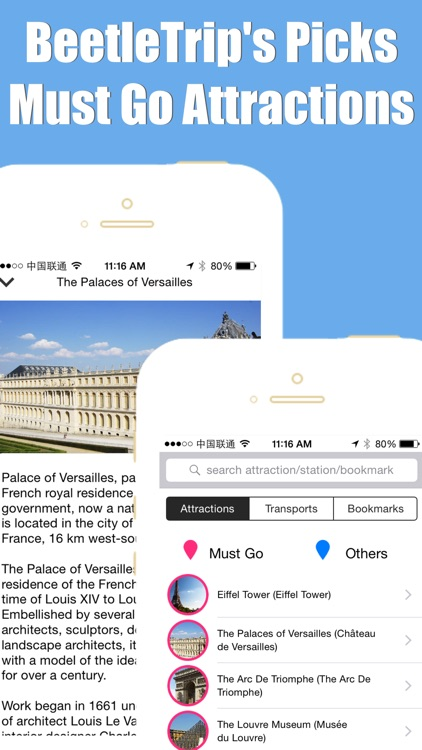 Paris travel guide with offline map and ratp rer metro transit by BeetleTrip screenshot-4