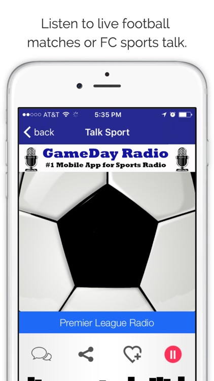 GameDay Premier Football League Radio  - Live English Pro Soccer and Bundesliga Edition