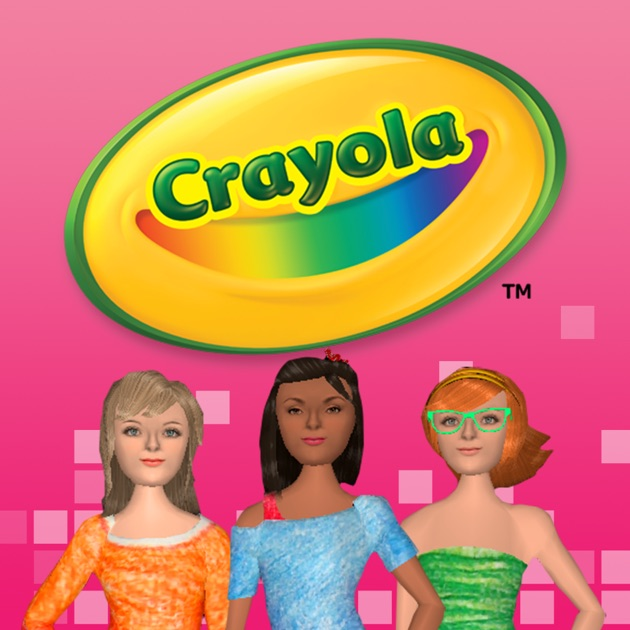 Crayola My Virtual Fashion Show on the App Store