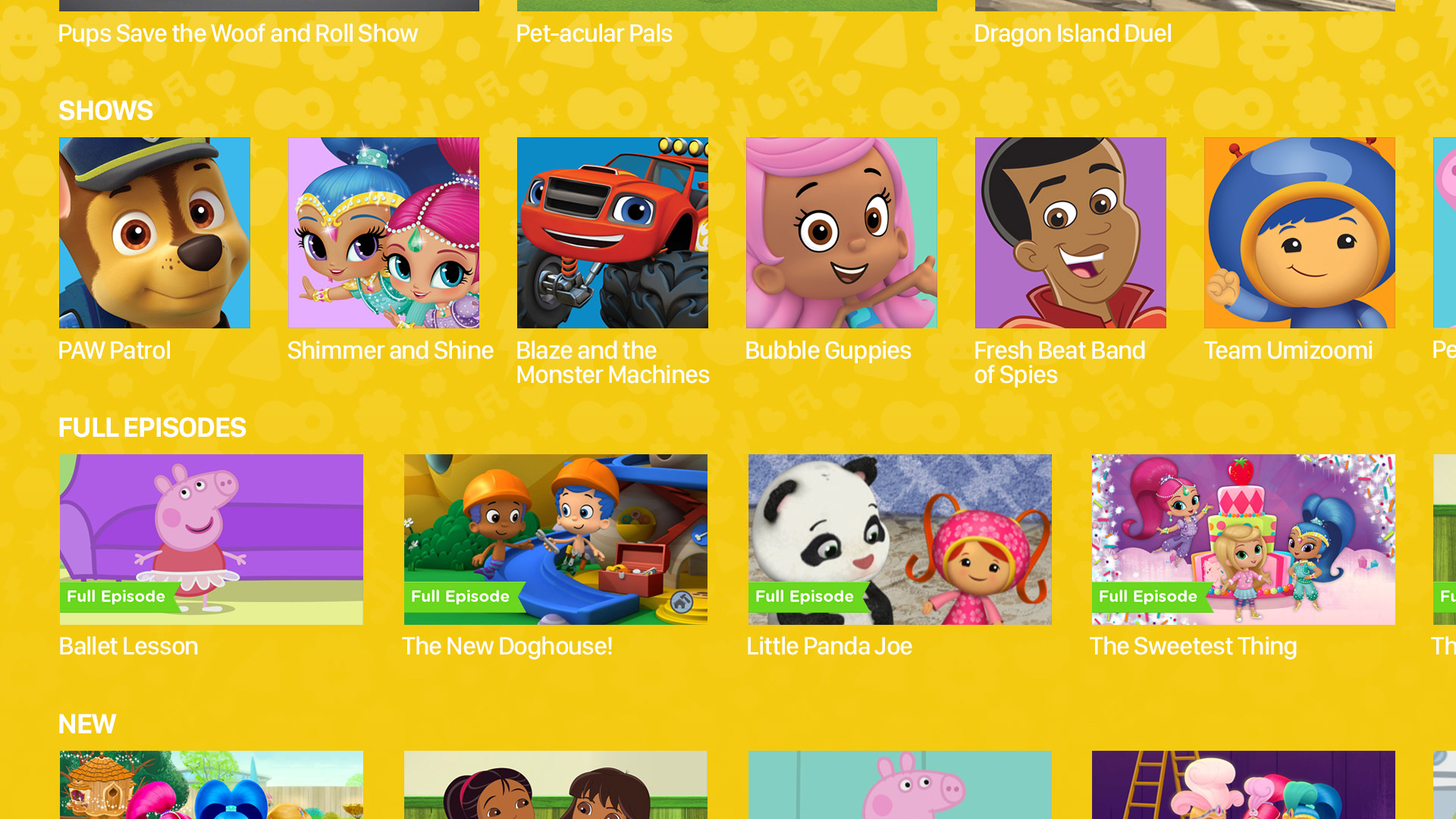 Nick Jr. screenshot 17