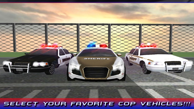 Police Arrest Car Driver Simulator 3D – Drive the cops vehicle to chase down criminals screenshot-4