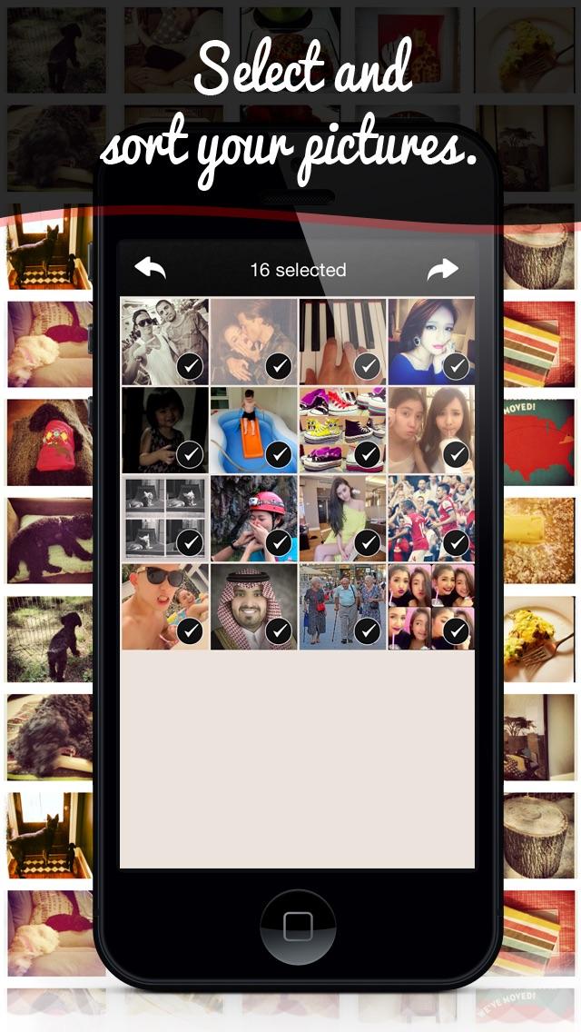 Slidergram review screenshots