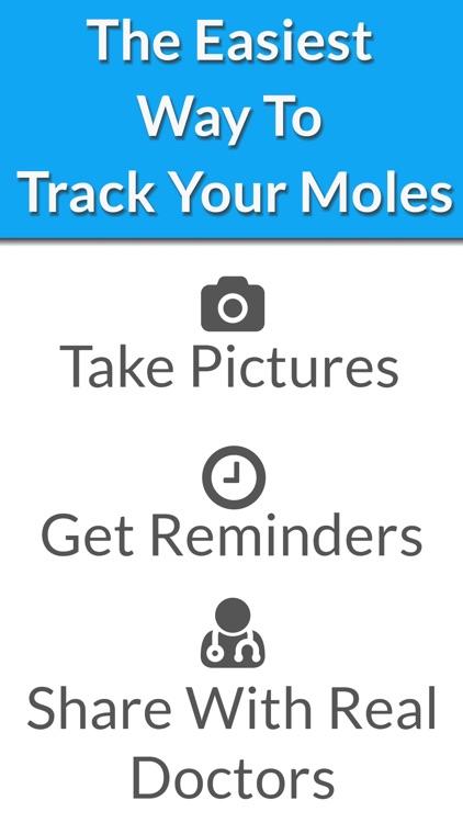 Skin Cancer App - MySkinPal - Map your skin moles
