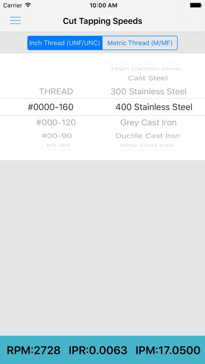 ThreadKing, Ultimate Reference and Calculator for Threads, Drills, Taps screenshot-3