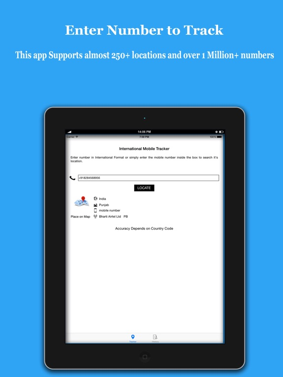 place search by mobile number