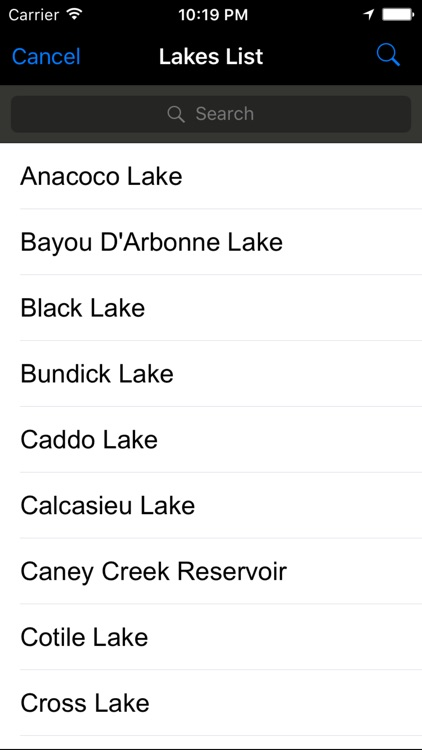 Louisiana-Mississippi: Fishing Lakes screenshot-1