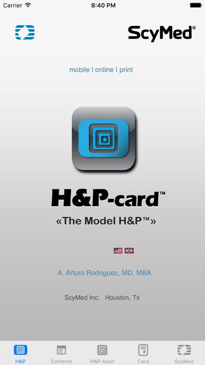 H&P-card