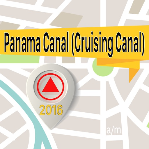 Panama Canal (Cruising Canal) Offline Map Navigator and Guide
