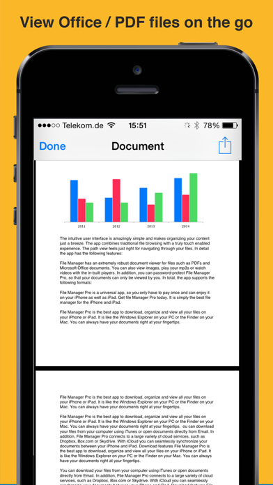 File Manager App screenshot two