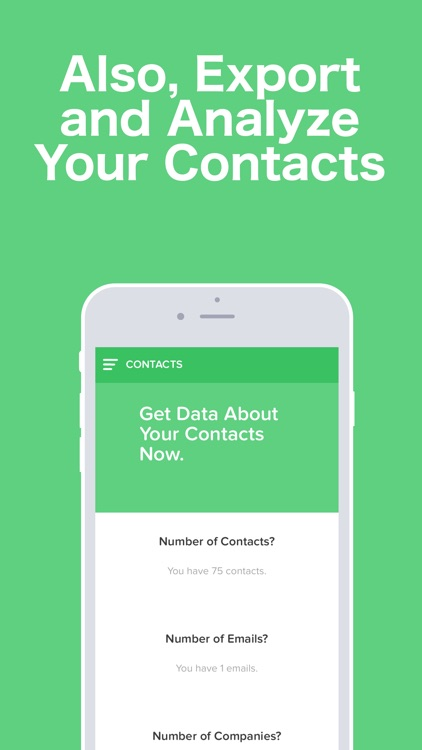 Text Recover - Contacts Export