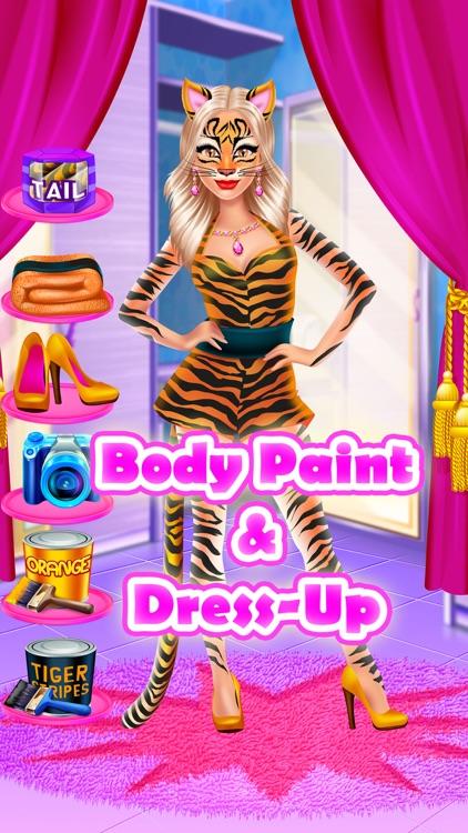 Face Paint Party Salon - Girls Makeup & Kids Games screenshot-4