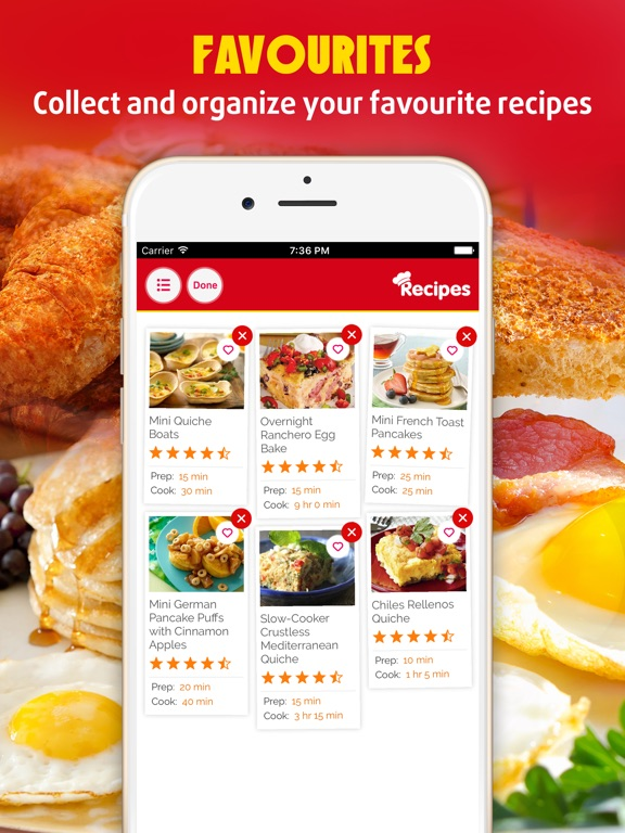 Easy Breakfast The Best Breakfast Brunch Recipes App Price Drops
