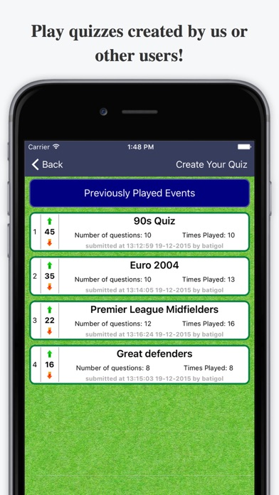 Ultimate Football Quiz - For Premier League & more screenshot three