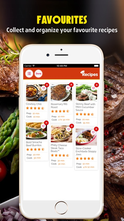 Yum Beef ~ Best Delicious and Healthy Beef Recipes screenshot-3