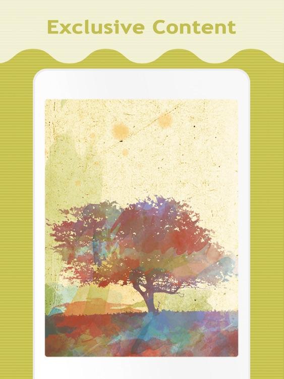 Color Splash Wallpapers for iPad screenshot-3