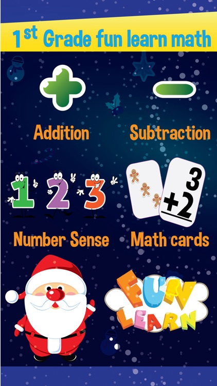 1st Grade Math addition and subtraction learning for kids